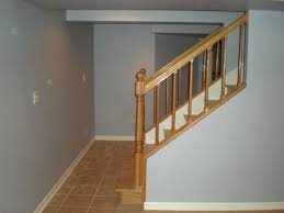 basement ideas stairs in the middle best alternative for