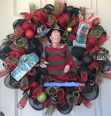 these horror wreaths bring to the season