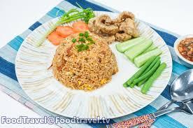 rice cuisine ข าวผ ดน ำพร กอ องแคบหม spicy tomato fried rice foodtravel tv