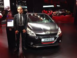 peugeot 208 gti 30th anniversary just interviewed pierre budar the chap in charge of the peugeot