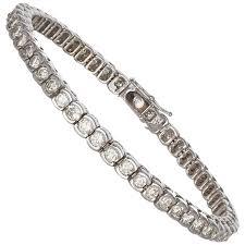 white gold ladies bracelet images Ladies 14 karat white gold and diamond tennis bracelet 3 20 carat jpg