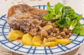 recette cuisine porc côte de porc aux pommes et châtaignes kilometre 0 fr