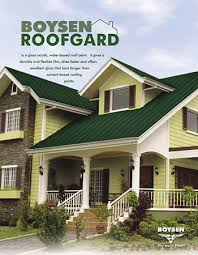 boysen roofgard is a gloss acrylic water based roof paint