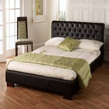Faux Leather Bed Frames Limelight Aries Black Faux Leather Bed Frame Dublin Beds
