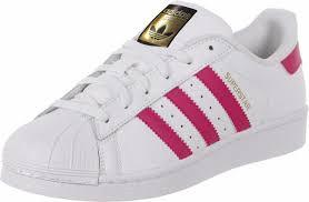 imagenes en blanco y rosa zapatillas adidas superstar de cuero blanco rosa 2 998 00 en