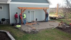 Pergola On Concrete Patio by South Spokane Patio And Pergola Terrabella Inc