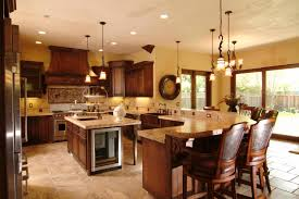 amazing kitchen island with lower seating area 2 kitchen island