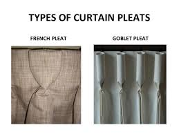 French Pleated Drapes Window Treatment