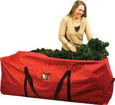 santas bags rolling tree storage duffel for 6 to 9