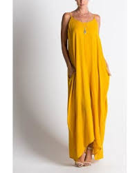 great deals on miracle berry mustard pocket oversize maxi dress