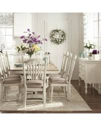 Check Out These Bargains On McKay Country Antique White Pedestal - Tribecca home mckay country antique white pedestal extending dining table