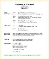 What To Say About Yourself On A Resume Resume Template Fill In 28 Images Doc 1407983 How To Fill Out