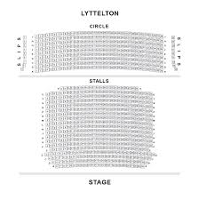 national theatre floor plan lyttelton theatre national seating plan londontheatre co uk