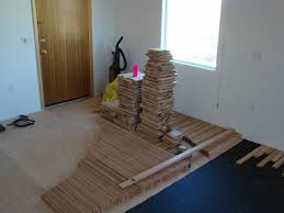 sprung wood dance floor 11 steps