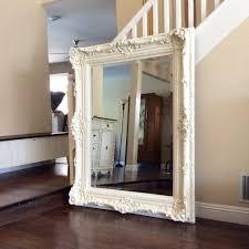 White Wall Mirror 15 Large Ornate Wall Mirrors Mirror Ideas