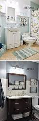 Small Bathroom Makeover by Before And After 20 Awesome Bathroom Makeovers Hall Bathroom