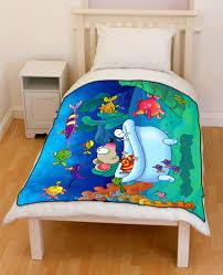 toopy u0026 binoo bedding throw fleece blanket creativgoods