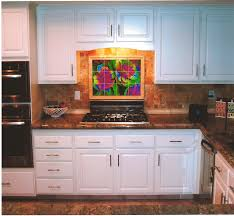 kitchen inspiring kitchen wall mural for kitchen decorating full size of kitchen heavenly l shape decoration using brown granite counter tops including red rose