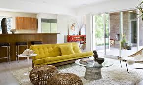 Black Leather Mid Century Sofa Mid Century Living Room Furniture Black Leather Seat Lounge Chai