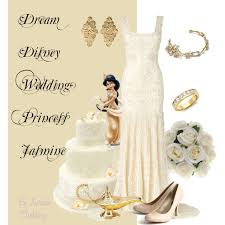dream disney wedding princess jasmine polyvore