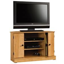 Corner Tv Cabinet For Flat Screens Beginnings Corner Tv Stand 412996 Sauder