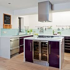purple cabinets kitchen purple kitchen designs pictures and inspiration