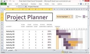 Excel Gantt Chart Template 2013 Project Tracking Template Simple Project Tracking Template