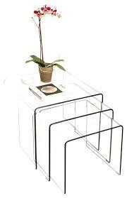 glass coffee table set of 3 3 piece glass table set artcercedilla com