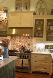How To Decorate Above Cabinets by Cabinet Garland For Above Kitchen Cabinets Diy Artichoke Garland