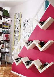 10 practical and interesting looking wall mounted wine racks
