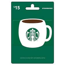 starbuck gift card deal 15 starbucks gift card bj s wholesale club