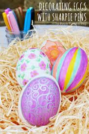 Decorating Eggs Decorating Eggs With Sharpie Pens The Purple Pumpkin Blog