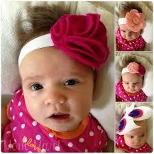 baby headband mart diy felt flower baby headbands tutorial