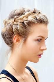 hairstyle updo braid updo for short hair braids for short hair
