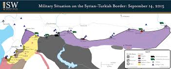 Syria Situation Map isw blog military situation on the syrian turkish border
