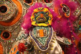 mardi gras indian costumes how the mardi gras indians compete to craft the most stunning