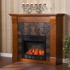 sei elkmont salem electric fireplace antique oak styleshouse