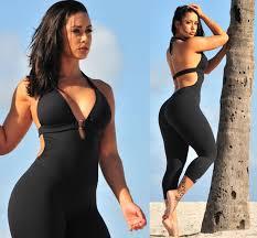 black halter jumpsuit onesize up vibe fitness clothing women u0027s