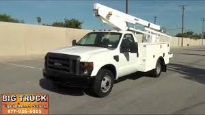 2008 ford f350 versalift tel29n 34 u0027 bucket truck for sale www