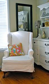 slipcover wing chair wing chair slip cover drew home