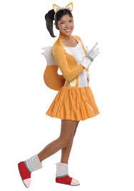 teen girls tails dress costume