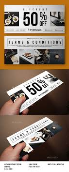 discounted restaurant gift cards restaurant voucher template design http graphicriver