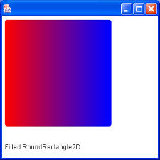 gradientpaint demo gradient paint 2d graphics gui java
