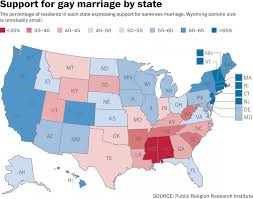 Red And Blue State Map by Current Status Of Samesex Marriages And Civil Unions Now Its