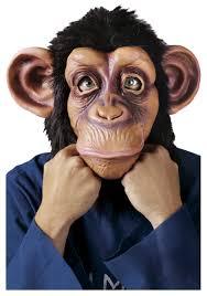 realistic deluxe chimp mask funny animal masks bruno mars