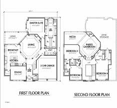 two story house blueprints house plan unique floor plan for two storey house in the