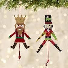 jumping nutcracker ornaments crate and barrel