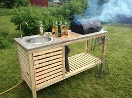 meuble cuisine diy la cuisine d été le choix idéal pour un repas à ciel ouvert