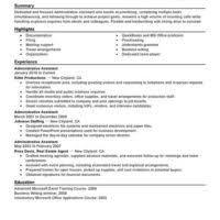 Sample Executive Administrative Assistant Resume by Stunning Administrative Assistant Resume Sample With Strengths And