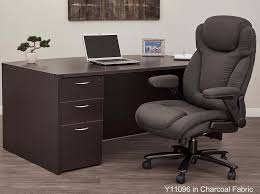 Extra Heavyweight Office Chair Modern Wide W 400 Lb Capacity In 14